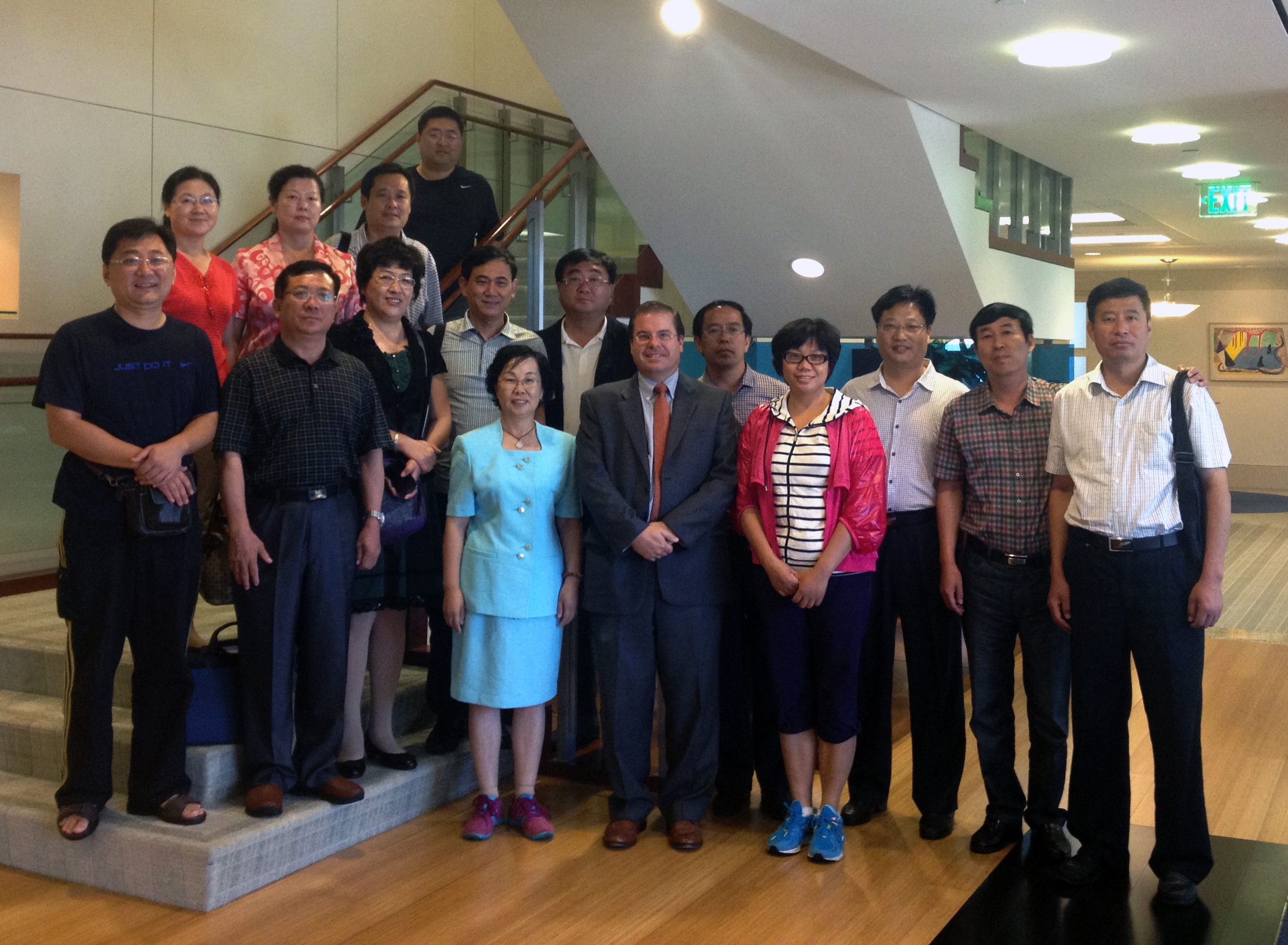 Chinese Judges visit JMBM