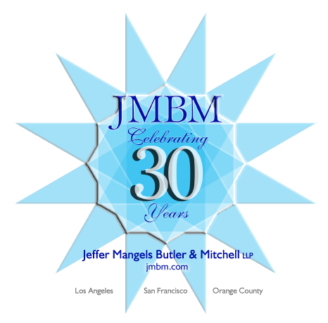 JMBM 30th Anniversary Logo